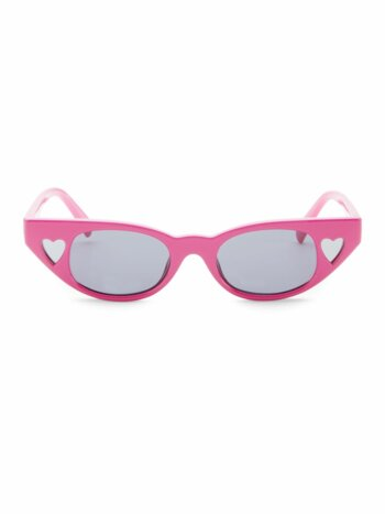 Le Specs x Adam Selman The Heartbreaker 56MM Cat Eye Sunglasses