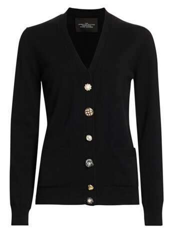 The Jewelled Button Cardigan