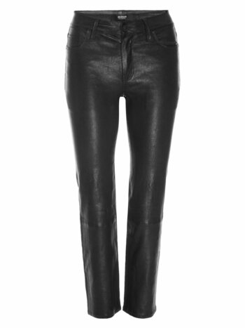 Nico Mid-Rise Cigarette Leather Pants