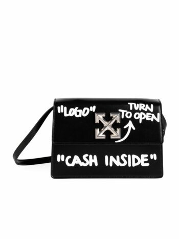 Jitney 1.0 Cash Inside Leather Crossbody Bag
