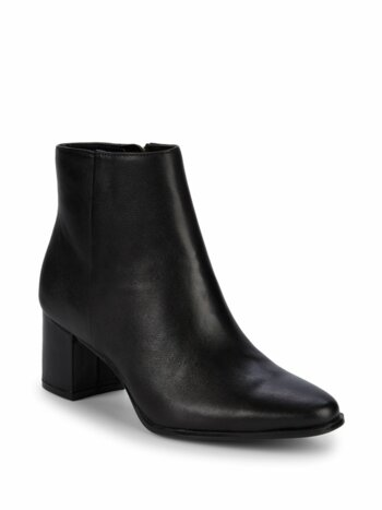 Fimora Leather Ankle Boots