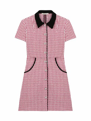 Renatya Mini Tweed Shirtdress