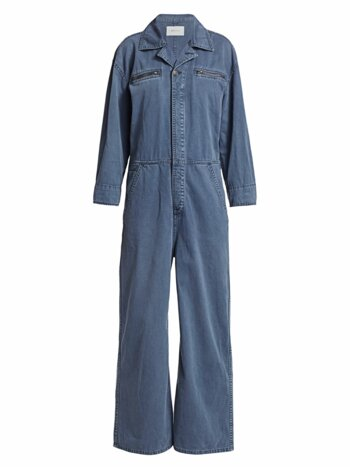 The Penny Denim Jumpsuit