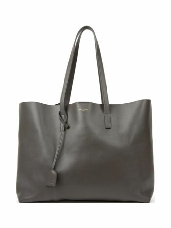Large Leather Shopper Tote