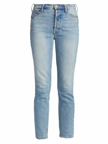 Dazzler Ankle Heart Pocket Jeans