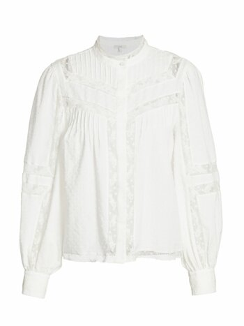 Nazly Floral Lace Blouse
