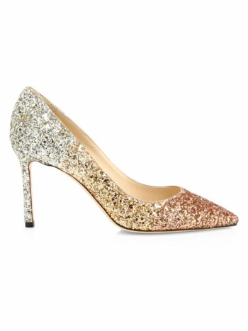 Romy Ombre Glitter Pumps