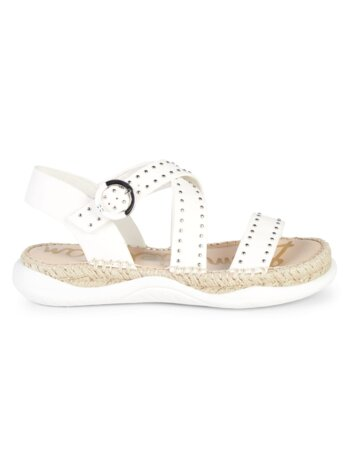 Janette Studded Leather Sandals