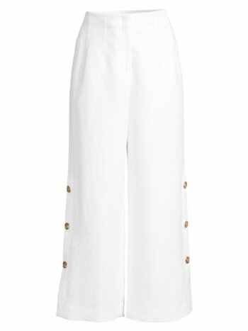 Downing Linen Capri Pants