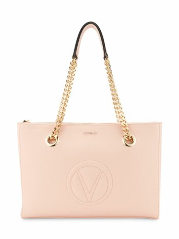 Floralie Leather & Chain Strap Handbag