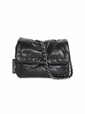 Mini The Pillow Leather Crossbody Bag