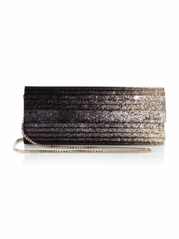 Sweetie Degrade Glitter Clutch