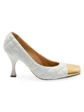 Dream Matelassé Leather Pumps