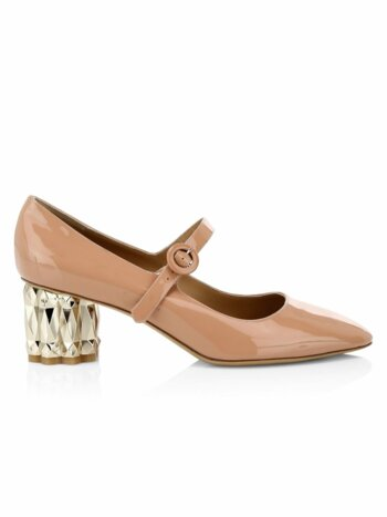 Ortensia Patent Leather Mary Janes