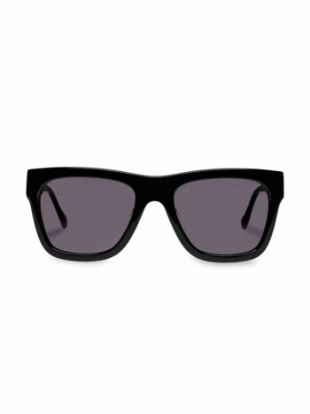 Wrecking Ball 56MM Modern Rectangle Sunglasses