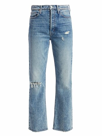 Tripper High-Rise Distressed Cropped Jeans