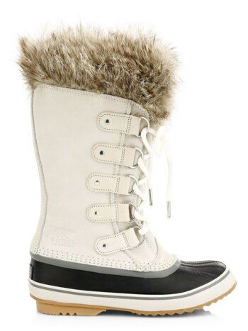 Joan Of Arctic Faux Fur Suede Boots