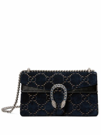 Small Dionysus GG Velvet Shoulder Bag