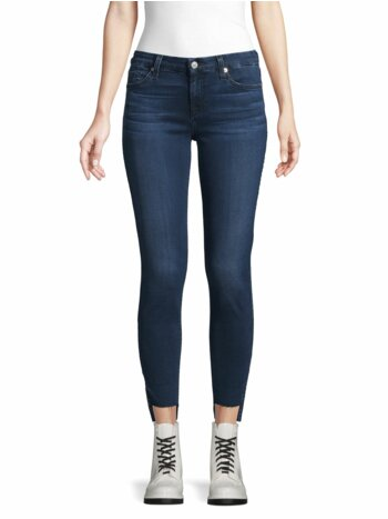 Gwenevere Step Hem Cropped Jeans
