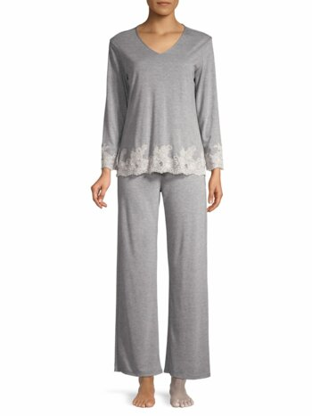 Luxe Shangri La Two-Piece Pajama Set