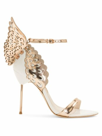 Evangeline Winged Leather Sandals
