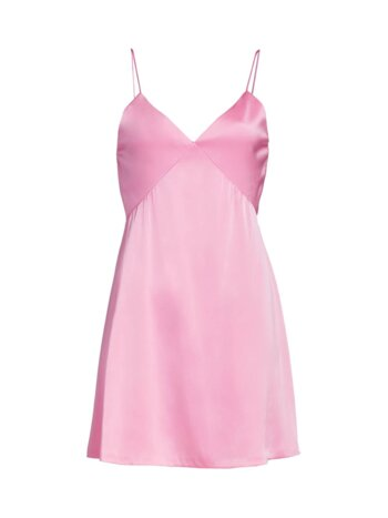 Melinda Seamed Mini Slip Dress