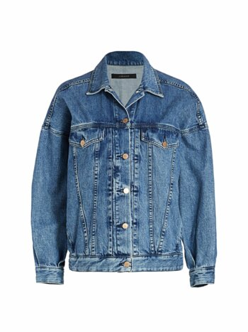 Drew Oversized Denim Trucker Jacket